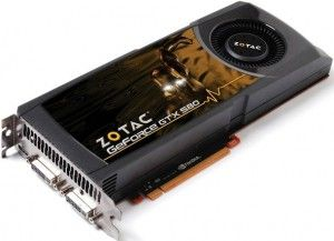 Zotac GeForce GTX 580