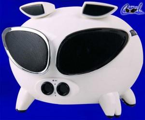 Свинья – динамик для iPod