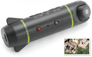Камера, монтируемая на самолетик на дистанционном управления