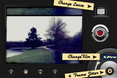 Приложение iPhone Hipstamatic позволяет снимать винтажное видио