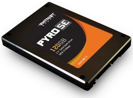 Компания Patriot представила SSD-диски серии Pyro SE SATA 6.0 Gbps
