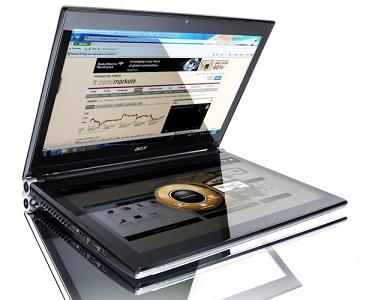 Нотбук с двумя экранами Acer Iconia будет стоить 1499 евро