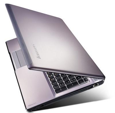 Lenovo начала поставки ноутбука IdeaPad Z570