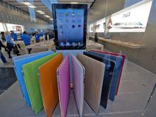 Начались мировые продажи планшетного компьютера iPad 2