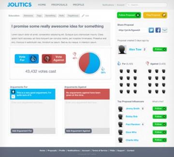 В Великобритании появилась законотворческая социальная сеть