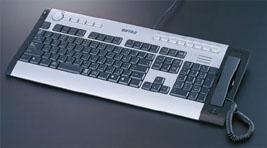 Клавиатура со встроенным skype телефоном