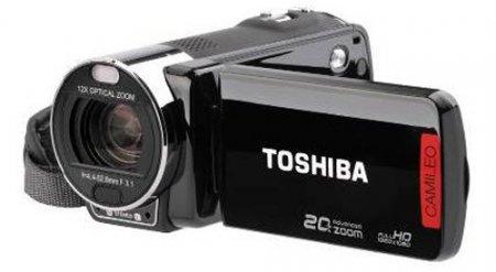Toshiba представила видеокамеры с мощным зумом
