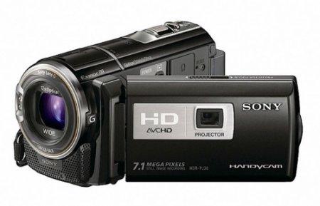 Sony Handycam со встроенным проектором