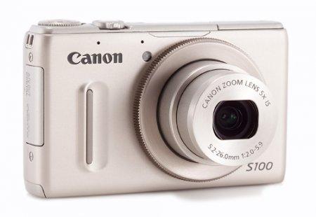 Начинаются продажи Canon PowerShot S100