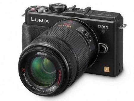 Новая беззеркалка Panasonic DMC-GX