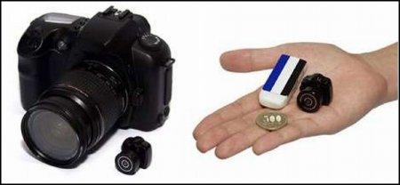 Крошечный японский фотоаппарат Chobi Mini Digital Camera