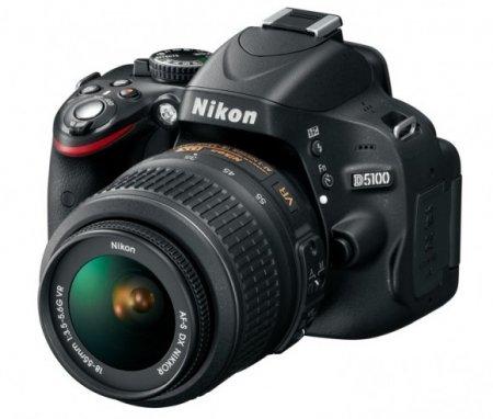 Представлена зеркальная камера Nikon D5100