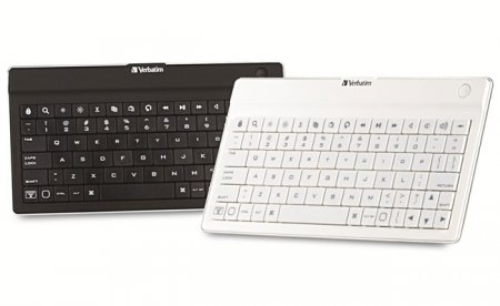 Verbatim выпустила Bluetooth-клавиатуру для планшетных компьютеров