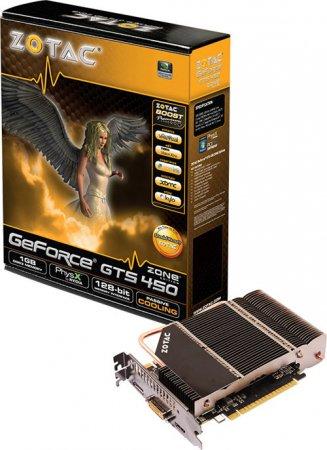 ZOTAC GeForce GTS 450 – как альтернатива NVIDIA GeForce GTS 450
