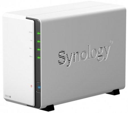 Двухдисковый NAS-сервер от Synology