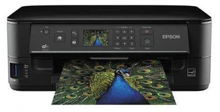Принтер Epson печатает, копирует и сканирует по Wi-Fi
