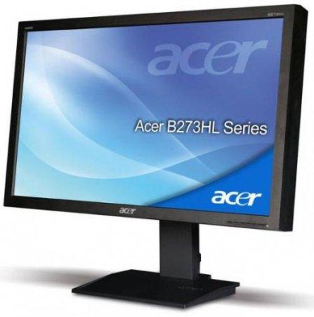 Acer представила два новых монитор