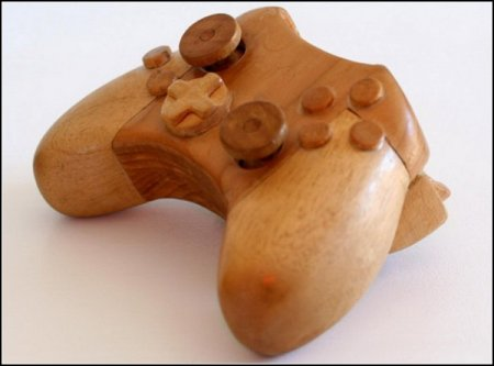 Xbox из натурального дерева