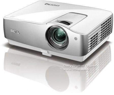 DLP-проектор BenQ W1100 с поддержкой Full HD и SRS WOW HD