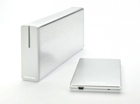 Toshiba представила новые внешние HDD с USB 3.0