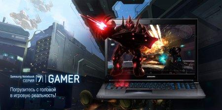Ноутбуки Samsung 7 Gamer уже в России