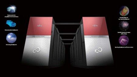 Fujitsu запустила в производство суперкомпьютер
