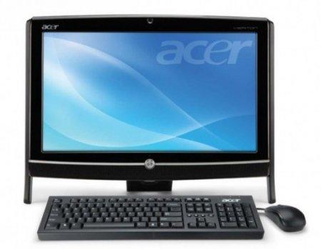 Acer представила сенсорные моноблоки