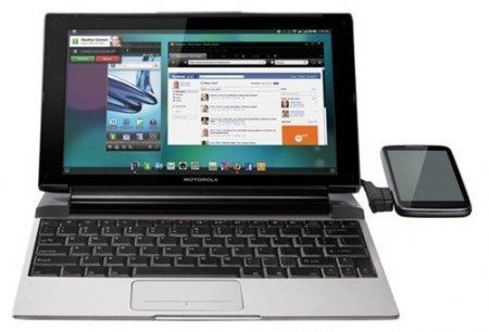 Motorola Lapdock 100 сделает из смартфона нетбук