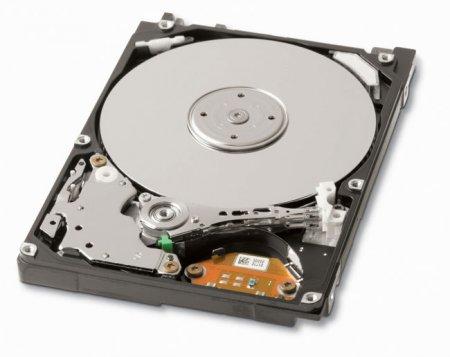 Самостирающийся жесткий диск от Toshiba