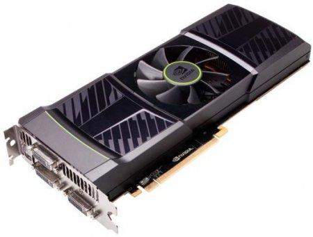 NVIDIA представила видеокарту GTX 590