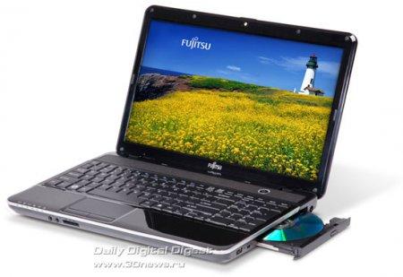 Fujitsu LifeBook AH531 с чипом Sandy Bridge и приводом Blu-ray