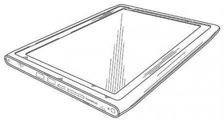 Nokia патентует дизайн планшетов