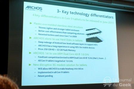 Archos готовит планшеты Gen 9 на двухъядерных 1,6 ГГц процессорах
