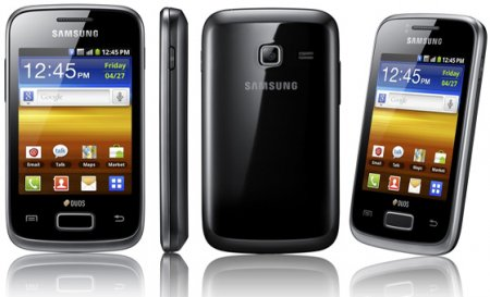 Samsung Galaxy Y Pro с поддержкой двух SIM-карт