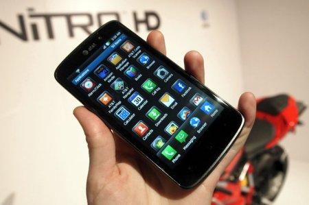 Новинка от компании LG: смартфон Nitro HD