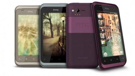 «Дамский» HTC Rhyme уже в магазинах