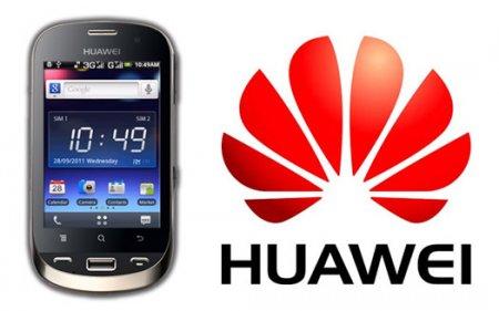 Huawei представила двухсимочник на базе Android