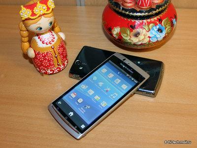 Sony Ericsson наделила смартфон arc поддержкой NFC