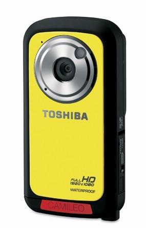 Toshiba представляет доступный защищенный камкордер Camileo