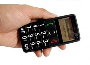 Телефон для престарелых с функцией SOS