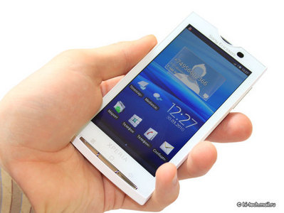В Sony Ericsson X10 появился псевдо-мультитач