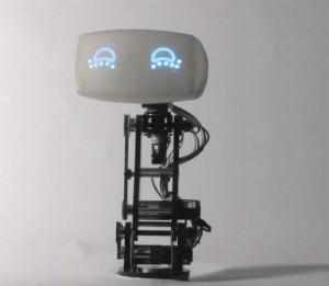 GPS навигатор с головой робота