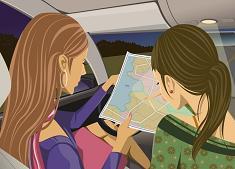 Иногда обычная карта лучше, чем GPS-навигатор