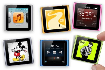 iPod touch и iPod nano - обновились