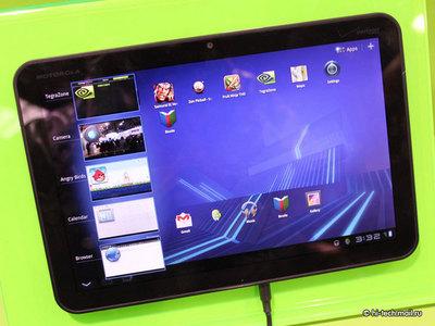 Motorola готовит очень быстрый планшет