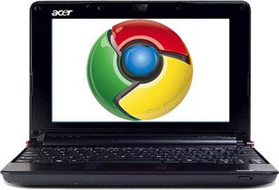 Acer возродила проект по созданию нетбука на базе Chrome