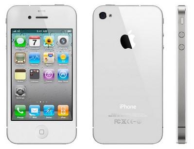 Белый iPhone появился в продаже