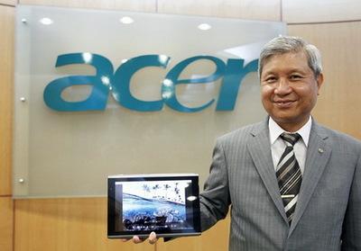 Acer будет выпускать ультратонкие ноутбуки