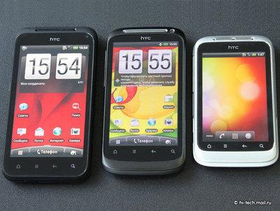 Впервые HTC обогнала компанию Nokia