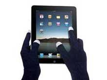 Перчатки с проводящими кончиками пальцев